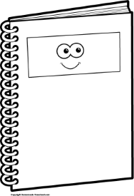 ruler clipart black and white cpa school notebook bw